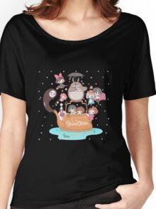love it ghibli studio Women's Relaxed Fit T-Shirt