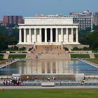 Lincoln Memorial and Reflecting Pool by Daniel Owens