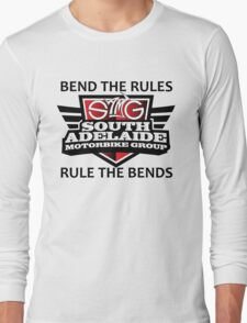 South Adelaide Motorbike Group Rule the bends Long Sleeve T-Shirt