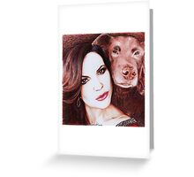 Lana And Lola Greeting Card