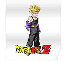 Dragon Ball Z - Super Saiyan Trunks Poster