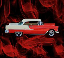 1955 CHEVROLET BEL AIR THROW PILLOW by ╰⊰✿ℒᵒᶹᵉ Bonita✿⊱╮ Lalonde✿⊱╮