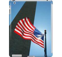 Washington Monument and Flag iPad Case/Skin