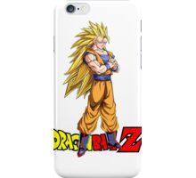Dragon Ball Z - Super Saiyan 3 Goku iPhone Case/Skin