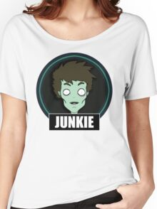 Junkie Women's Relaxed Fit T-Shirt