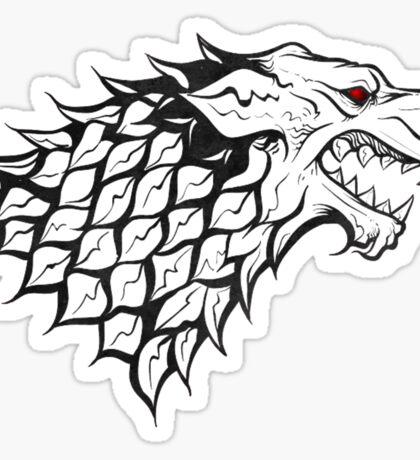 The White Wolf  Sticker
