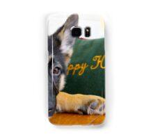 Puppy Holidays Samsung Galaxy Case/Skin