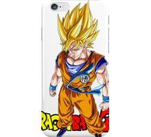 Dragon Ball Z - Super Saiyan Goku iPhone Case/Skin