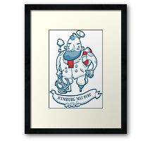 Swabian Captain Framed Print