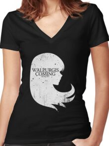 Walpurgis is Coming Women's Fitted V-Neck T-Shirt