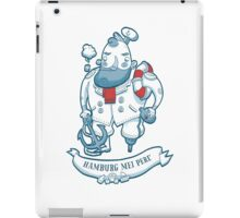 Swabian Captain iPad Case/Skin