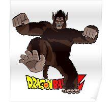 Dragon Ball Z - Oozaru (Ape) Son Goku Poster