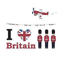 I love Britain Photographic Print