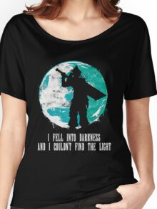 Final Fantasy - I Fell Into Darkness And I Couldn't Find The Light Women's Relaxed Fit T-Shirt