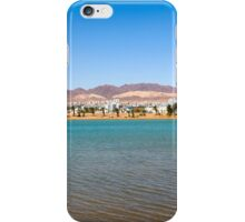 Eilat, Israel the artificial lagoon  iPhone Case/Skin