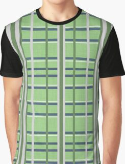 plaid texture seamless pattern Graphic T-Shirt