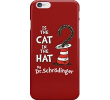 is The Cat in the hat iPhone Case/Skin