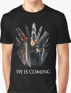 Final Fantasy - Vii Is Coming Graphic T-Shirt