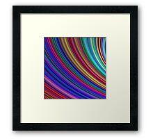 Spectrum Framed Print