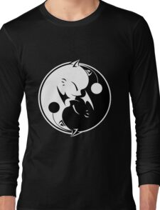 Final Fantasy - Yin Yang Mog Long Sleeve T-Shirt