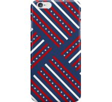Fourth of July Americana Quilt iPhone Case/Skin