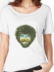 Happy Trees Women's Relaxed Fit T-Shirt