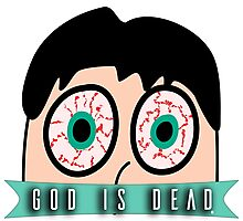 God is Dead  Photographic Print