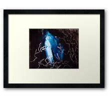 nightsky  Framed Print