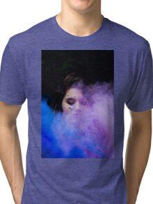 Cotton candy clouds  Tri-blend T-Shirt