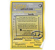 CANCER BIRTHDAY  Poster
