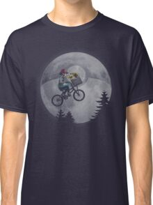 Bicycle scene - Pokemon E.T. Classic T-Shirt