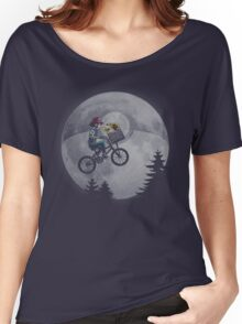 Bicycle scene - Pokemon E.T. Women's Relaxed Fit T-Shirt