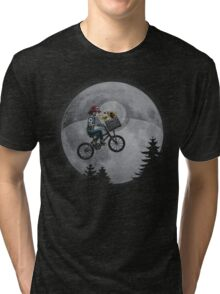 Bicycle scene - Pokemon E.T. Tri-blend T-Shirt
