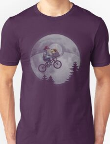 Bicycle scene - Pokemon E.T. Unisex T-Shirt