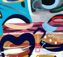 Abstract Interior Sticker