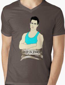 God is Dead, Bro Mens V-Neck T-Shirt