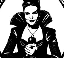 Evil Queen OUAT. Regina Mills. I'm A Queen And A Bit More Refined. Sticker