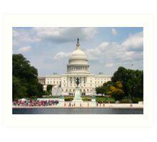 U.S. Capitol Building Art Print