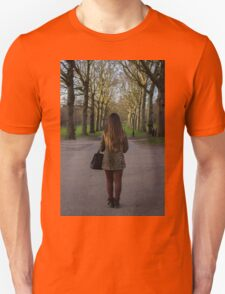 Tree Tunnel  Unisex T-Shirt