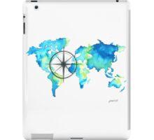 World Map - COMPASS iPad Case/Skin