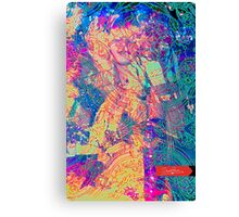 Love&Haight, Maiden of San Francisco in noon bloom  Canvas Print