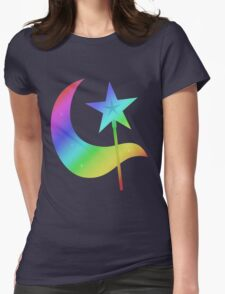 MLP - Cutie Mark Rainbow Special - Trixie Lulamoon Womens Fitted T-Shirt