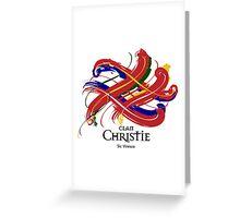 Clan Christie  Greeting Card