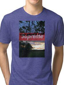 Supreme style Tri-blend T-Shirt