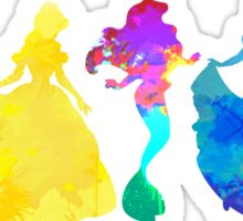Princesses Inspired Silhouette Sticker