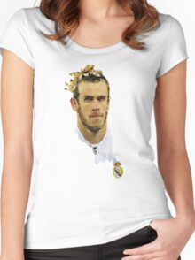 Gareth Bale Women's Fitted Scoop T-Shirt