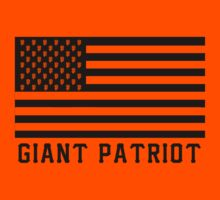 Giant Patriot (On Orange) by sflassen