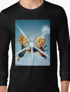 dbz trunks goten Long Sleeve T-Shirt