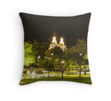 Landmark Nightlight  Throw Pillow
