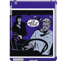 I'm Great At Boats  iPad Case/Skin